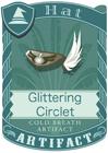 Glittering Circet Black