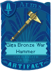 File:Giga Bronze War Hammer.png