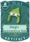 Magic Apprentice Hat Light Green