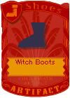 Witch Boots Purple