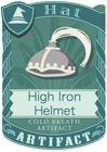 High Iron Helmet