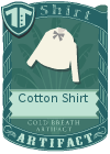 Cotton shirt bow grey