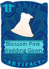 Blossom Pink Wedding Gown