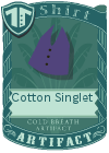 Cotton Singlet Purple