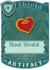 Steel Shield Red