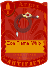 Zoa Flame Whip