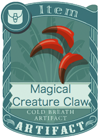 Magical Creature Claw