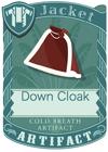 Down Cloak Red