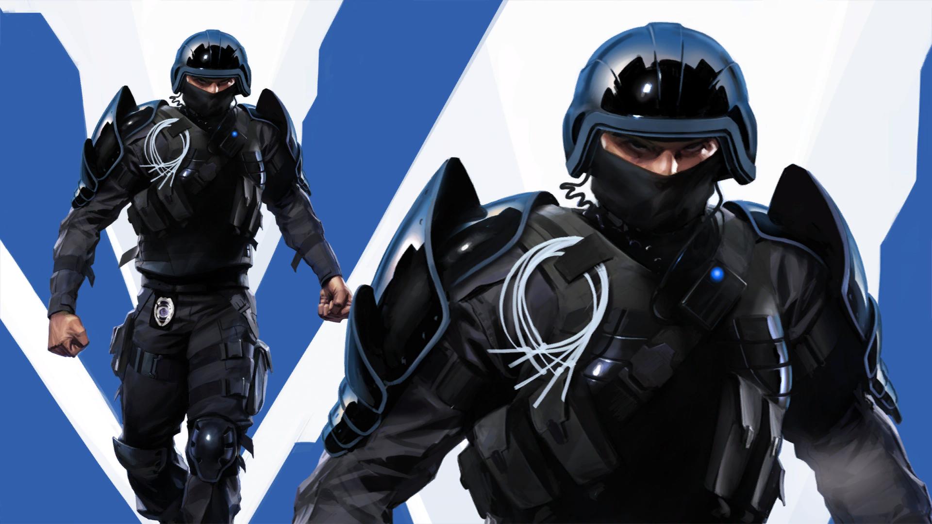 pursuit cop