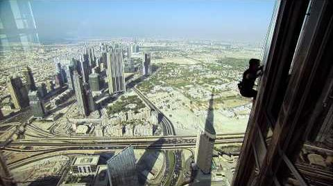The Establishing Shot Mission Impossible - Ghost Protocol Tom Cruise does his own stunts