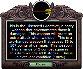Test axe diseasedgreataxe