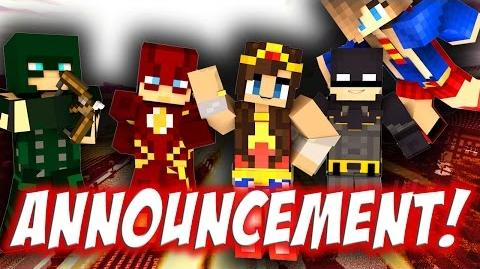 Superheroes Unite! - DC Minecraft Universe HUGE ANNOUNCEMENT!
