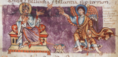 Stuttgarter Psalter Cod.bibl.fol.23, p.172, Bl.83v2