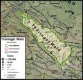 Thueringer Wald Naturraumkarte.png