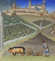Stundenbuch Herzog von Berry 1416 März