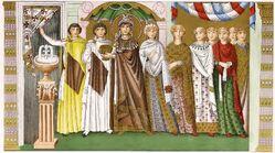 Kaiserin Theodora, 548, trachtenkunstwer01hefn Taf.003