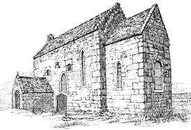 Escomb Church, Durham artsearlyengland02brow, p.111