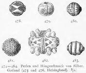 Perlen, Gotland, WZ kulturgeschichte00mont Abb.478-483