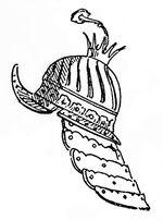 Burgunderkappe England 17.Jh, Kriegswaffen@demmin p534, Fig.133
