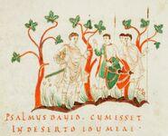 Psalterium aureum, Cod. Sang. 022, p.147