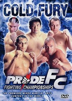 Pride 12 DVD cover