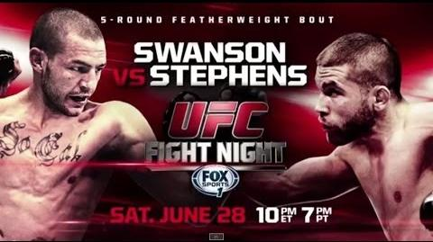 Fight Night San Antonio Swanson vs. Stephens Preview