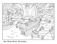 Pirate Dock Downshot