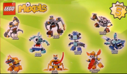 Mixels series 5 pose
