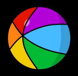 Rainbow cubit ball