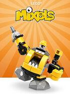 LEGO Mixels Serie6 Theme Button