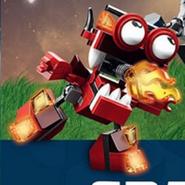 Burnard on the LEGO Club Magazine