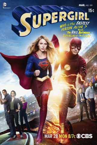 File:Supergirl & Flash Crossover Poster.png