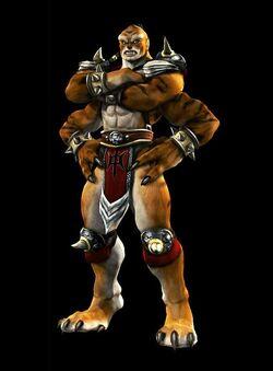 Kintaro's Shokan Armor