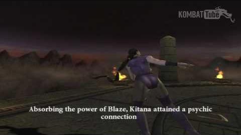 MK Armageddon Ending Kitana