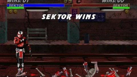 Mortal Kombat 3 - Fatality 1 - Sektor Compactor