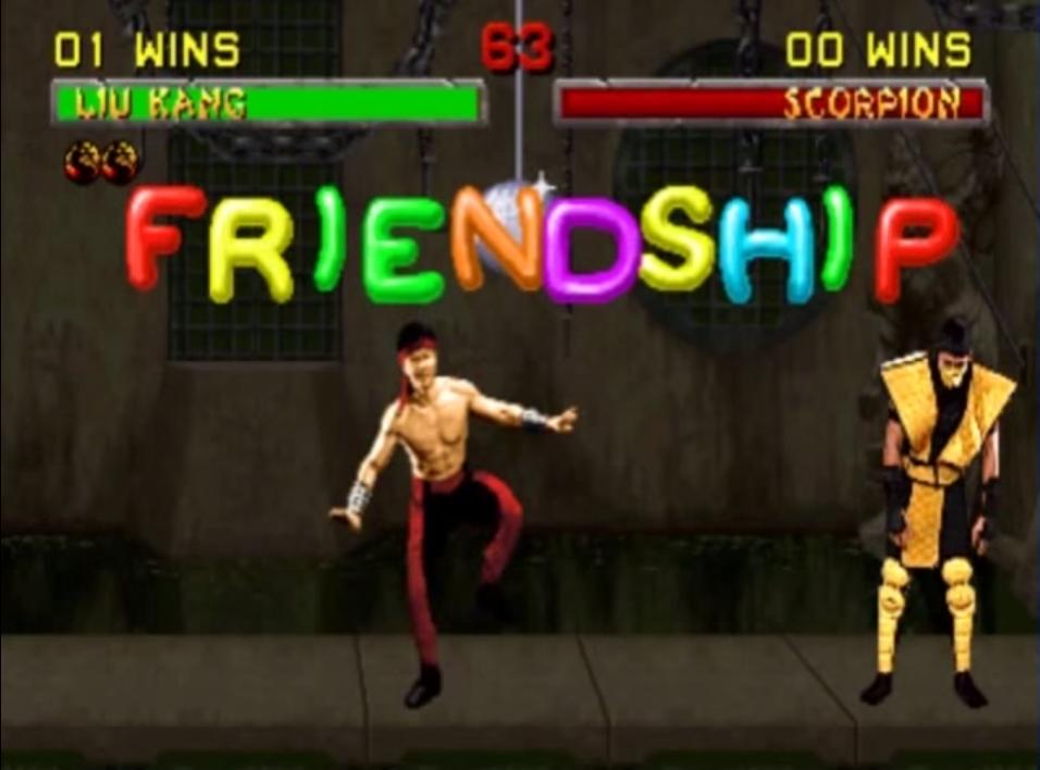 Kitana Mk2 Friendship | Mortal Ko...