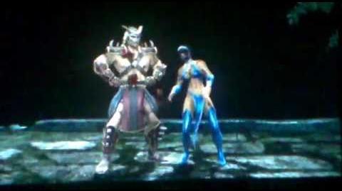 Mortal Kombat 2011 Shao Kahn GamePlay - Arcade Ladder MK9