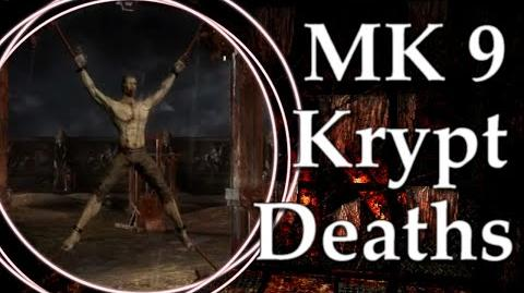 Mortal Kombat 9 Krypt Death Scenes
