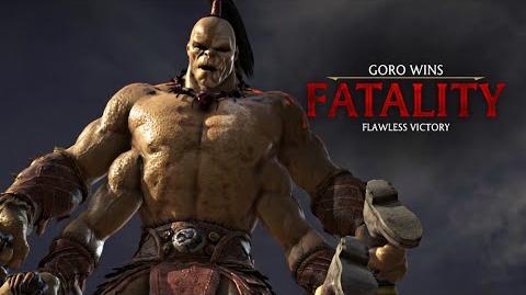 "MORTAL KOMBAT X · Goro ""Shokan Amputation"" Fatality -HD- 60fps - MKX"