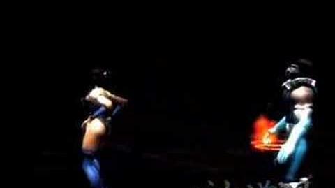 Mortal Kombat Shaolin Monks Kitana's Fatality