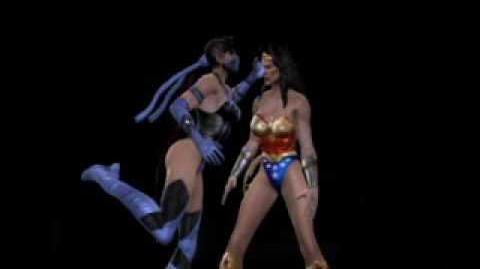 Mortal Kombat VS DC Universe Kitana Fatality 1