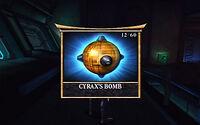 CyraxBombRelic