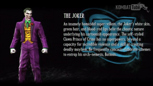 File:Joker's Bio from Mortal Kombat vs DC Universe.png