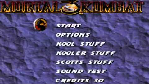 Mortal Kombat 3 (Secrets Codes) SNES HD 720p