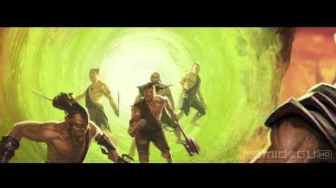 -HD- Mortal Kombat (2011) - Noob Saibot's Ending