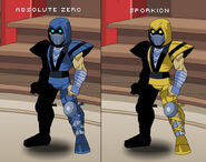 Scorpion subzero aqw