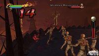 Taven Battles the Undead