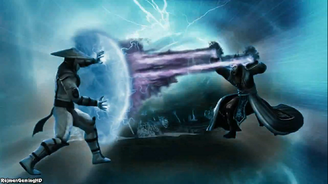 File:Raiden VS Shinnok.png