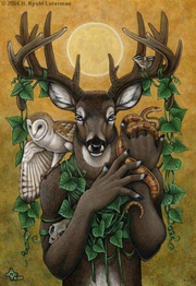 Horned-god-oil