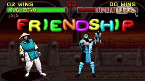 MK II Sub-Zero Friendship